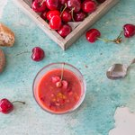 Tomaten-Chriesi-Suppe